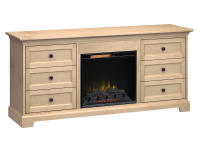 FP72J Fireplace Custom TV Console,fp72j,consoles,custom,tv,fireplace