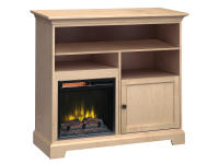 FT46C Extra Tall Fireplace Custom TV Console,ft46c,consoles,custom,tv consoles,fireplace,extra tall