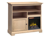 FT46D Extra Tall Fireplace Custom TV Console,ft46d,consoles,tv consoles,extra tall,fireplace