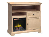 FT46E Extra Tall Fireplace Custom TV Console,ft46e,consoles,tv consoles,custom,extra tall,fireplace
