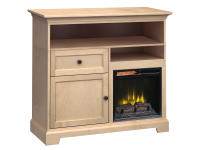 FT46F Extra Tall Fireplace Custom TV Console,ft46f,consoles,tv consoles,custom,extra tall,fireplace