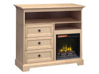 FT46H Extra Tall Fireplace Custom TV Console,ft46h,consoles,custom tv consoles,extra tall,tv,fireplace