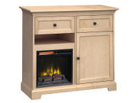 FT46J Extra Tall Fireplace Custom TV Console,ft46j,consoles,custom tv consoles,extra tall,tv,fireplace