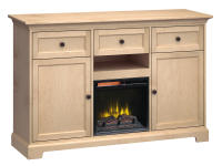FT63B Extra Tall Fireplace Custom TV Console,ft63b,consoles,custom tv consoles,extra tall,fireplace,tv