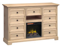 FT63F Extra Tall Fireplace Custom TV Console,ft63f,consoles,custom consoles,tv,extra tall,fireplace,tv consoles