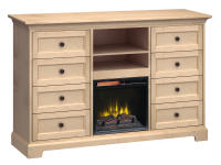 FT63G Extra Tall Fireplace Custom TV Console,ft63g,consoles,custom consoles,tv consoles,fireplace,extra tall,tv