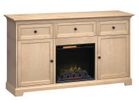 FT72B Extra Tall Fireplace Custom TV Console,ft72b,consoles,extra tall,custom tv consoles,fireplace,tv,custom