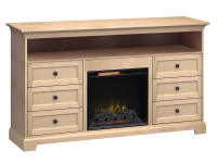 FT72E Extra Tall Fireplace Custom TV Console,ft72e,consoles,tv consoles,extra tall,fireplace,custom tv consoles,tv