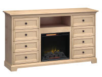 FT72F Extra Tall Fireplace Custom TV Console,ft72f,consoles,custom tv consoles,extra tall,fireplace,tv consoles,tv