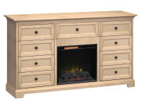 FT72G Extra Tall Fireplace Custom TV Console,ft72g,consoles,extra tall,fireplace tv consoles,custom tv consoles,tv
