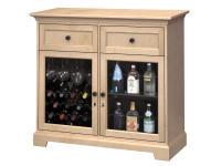 WS46D Wine & Bar Custom Console,ws46d,consoles,custom consoles,wine,bar