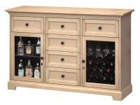 WS63B Wine & Bar Custom Console,ws63b,consoles,custom consoles,wine,bar