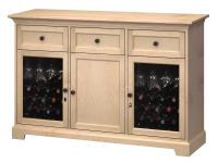 WS63F Wine & Bar Custom Console,ws63f,consoles,custom consoles,wine,bar