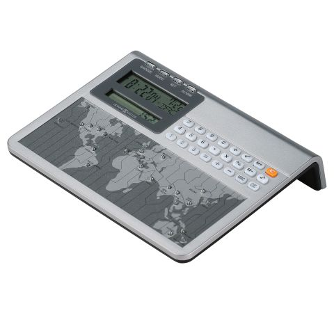645-761 Atlas World Clock & Calculator