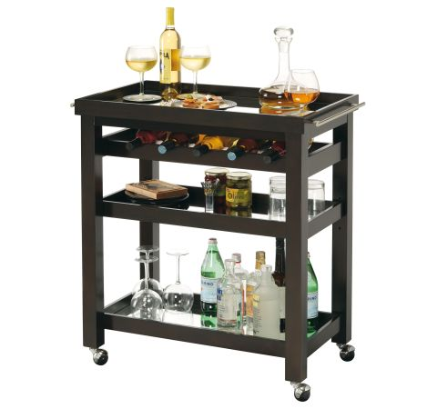 695-166 Pienza Wine & Bar Cart