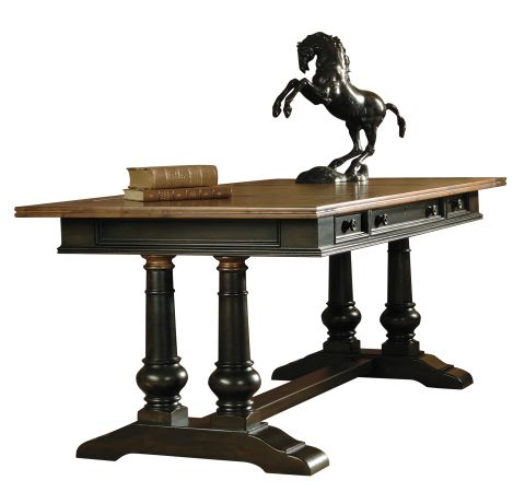 tuscan estates trestle desk - Hekman Furniture