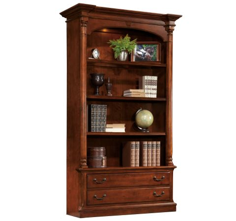 weathered collection bookcase bookshelf dp storage shelves crossmill bottom bookcases amazon with com