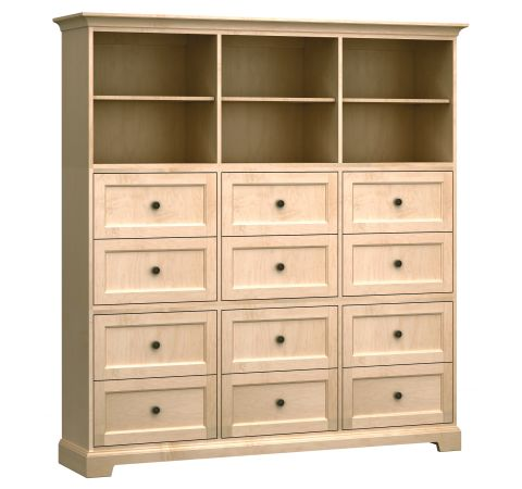 HS73L Custom Home Storage Cabinet