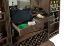 695-168 Monaciano Wine & Bar Cabinet