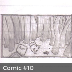 Comic #10: Señal de TV