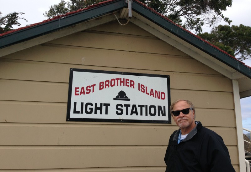 CHL #951  East Brother Light Station -