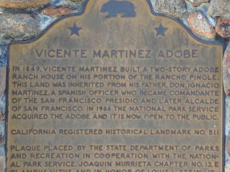 CHL #511 VICENTE MARTÍNEZ ADOBE State Plate