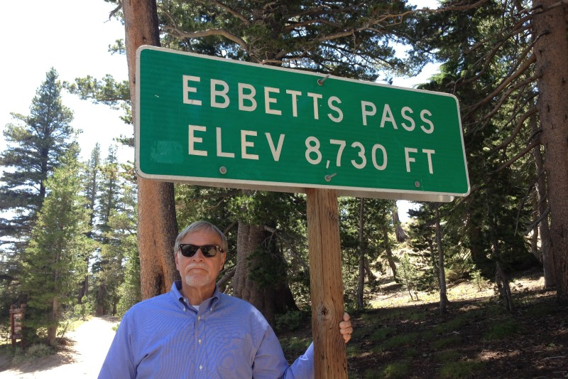 NO. 318 EBBETTS PASS ROUTE - Elevation