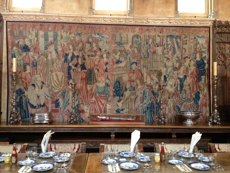 NO. 640  HEARST SAN SIMEON - Dining Room