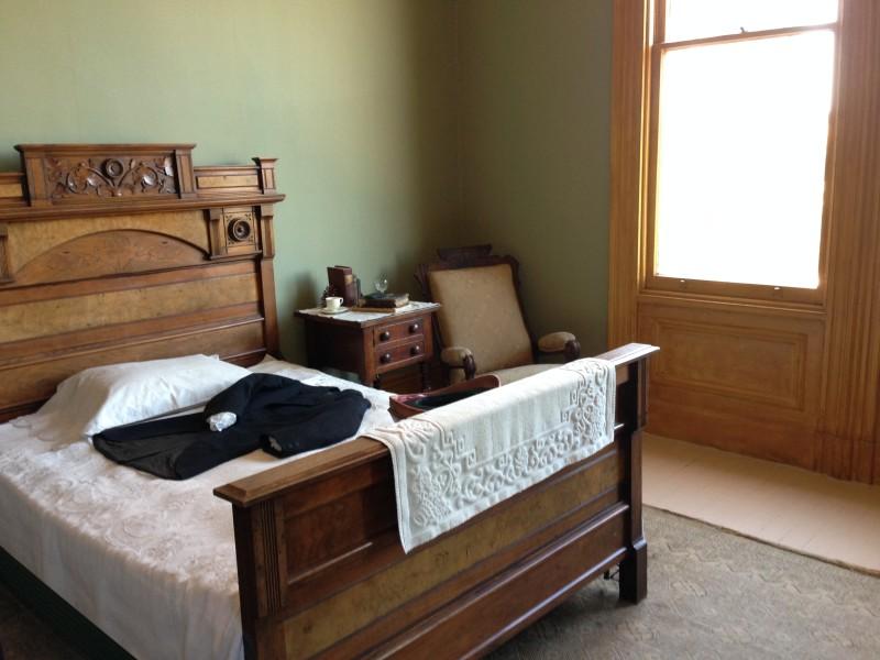 CHL #312 -John Muir National Historic Site _ John Muir's Bedroom