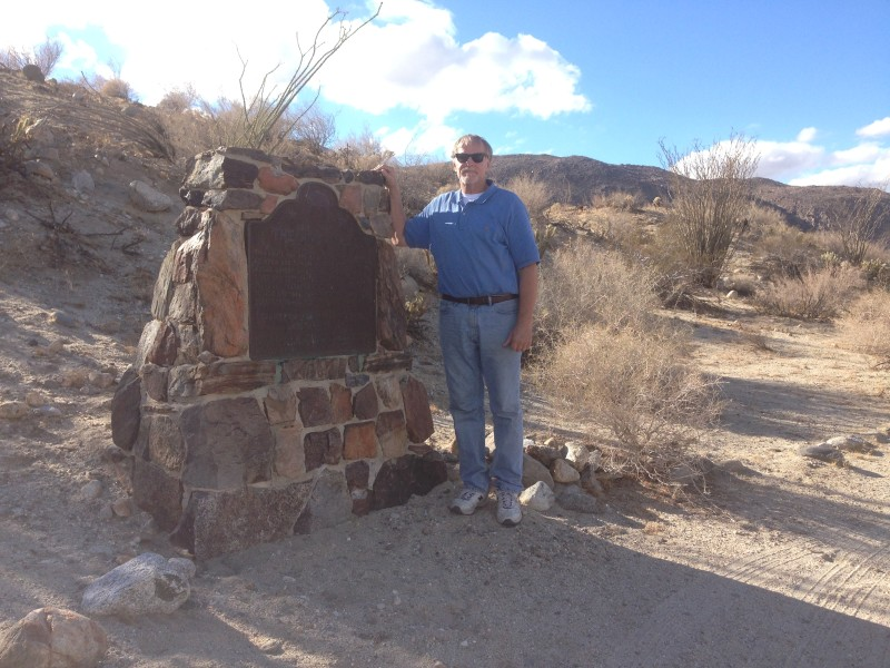 NO. 634 EL VADO  (The Anza Trail) - State Marker