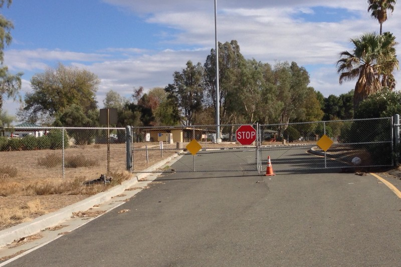 NO. 749 SAAHATPA - Caltrans has closed this site behind a locked gate