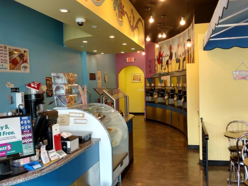 Yogurt Store counter