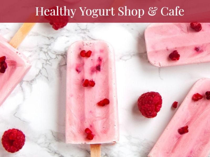 Healthy Yogurt Shop & Cafe