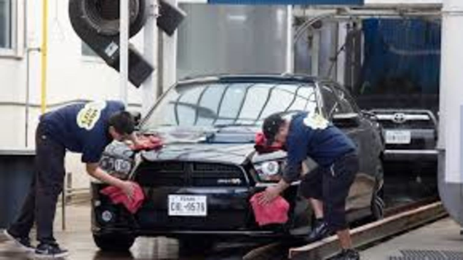 Car Wash With Property
