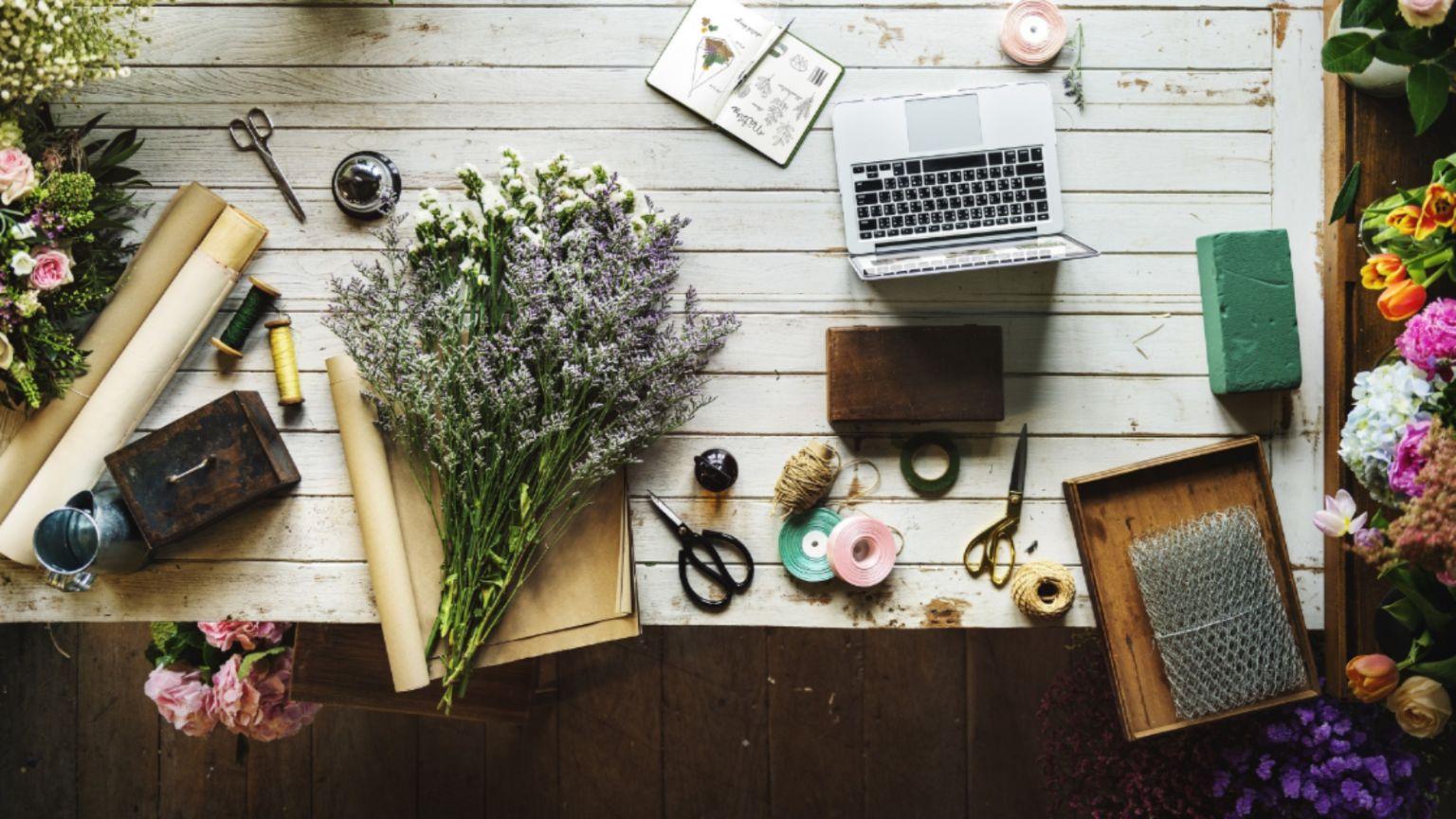 Florist Shop With Real Estate