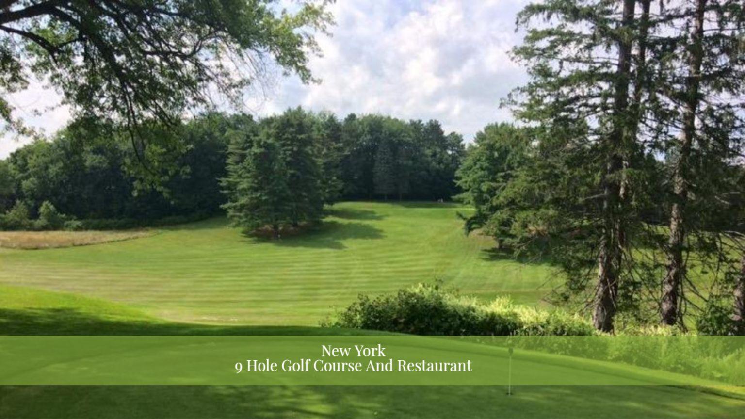 9 Hole Golf Course & Restaurant