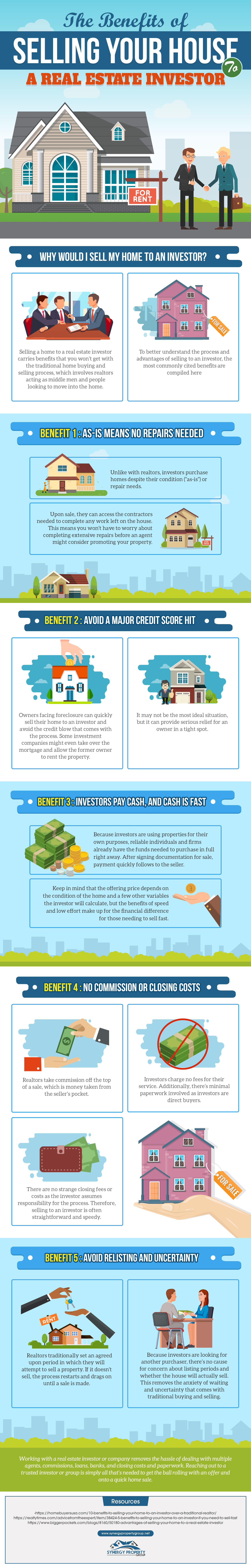 The Benefits of Selling Your House to a Real Estate Investor