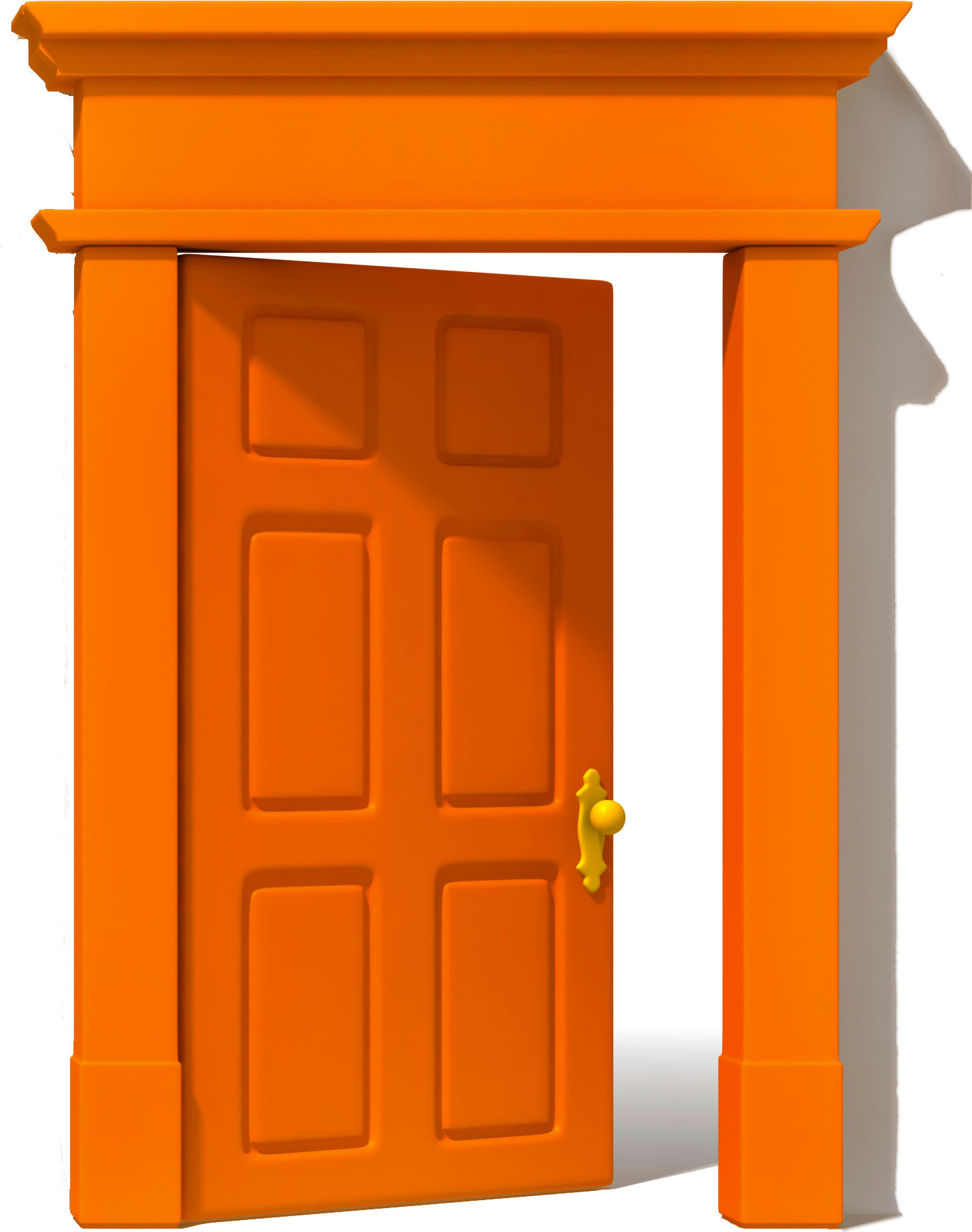 Orange Door & Phot...