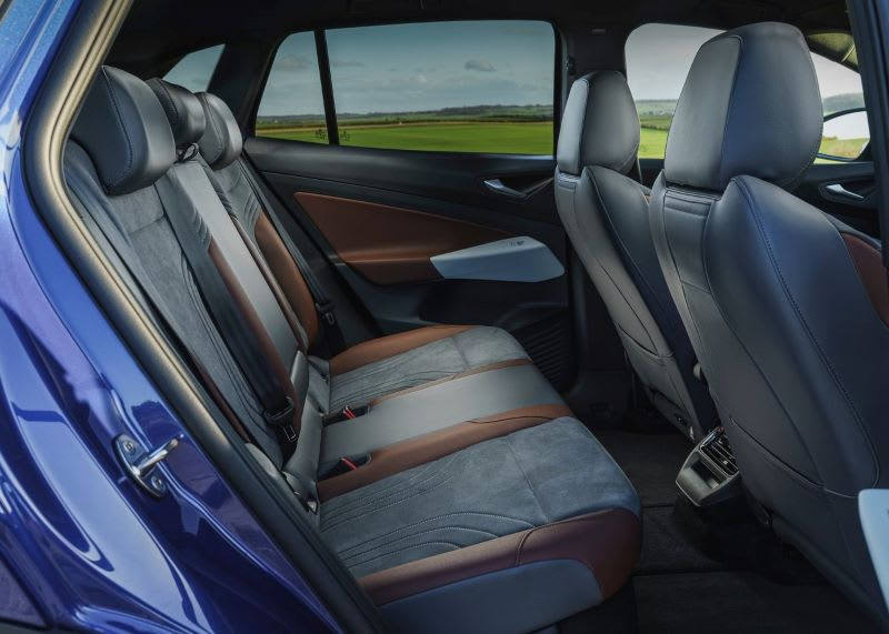 VW ID.4 back seat interior