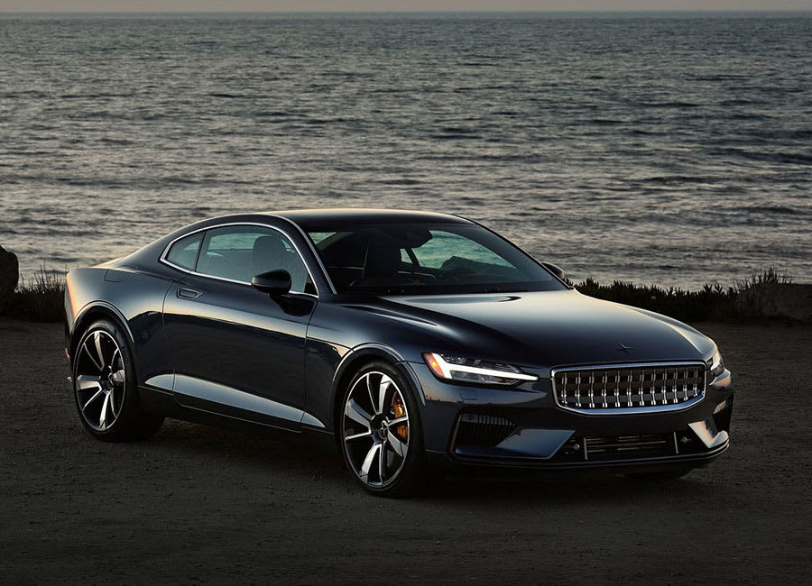 Polestar 1 front side view