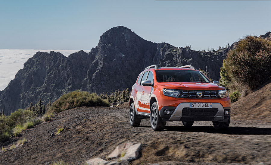 New Dacia Duster Front View