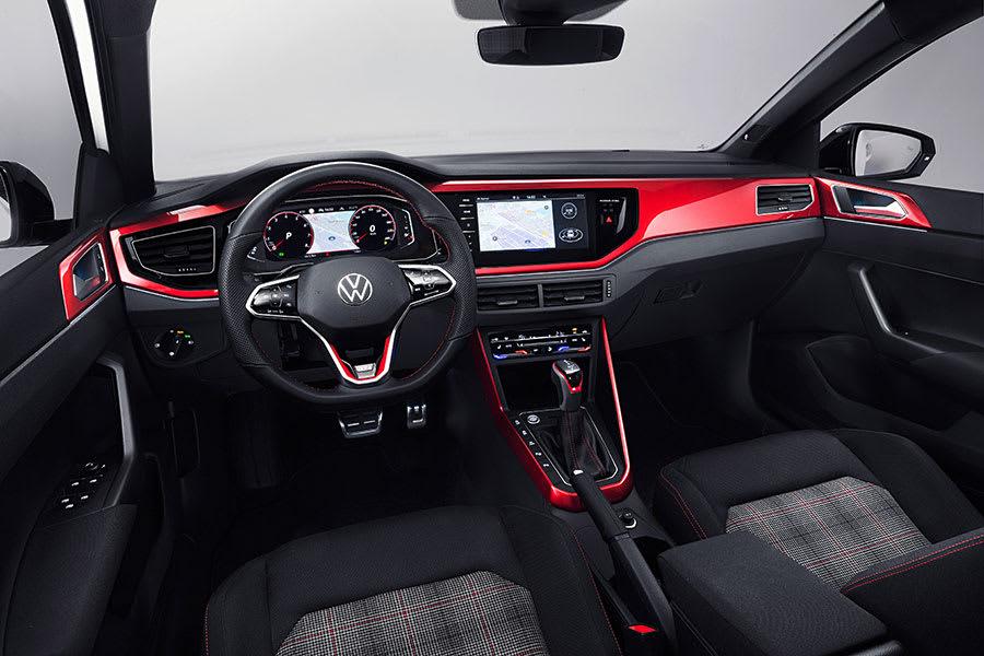 New VW Polo GTI interior