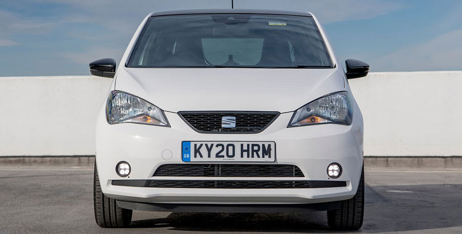 Seat Mii Electric front view