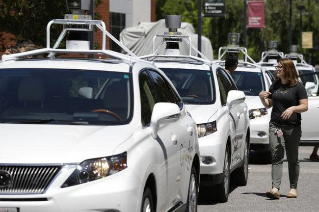 Google have said that there autonomous vehicles were not responsible for any collisons