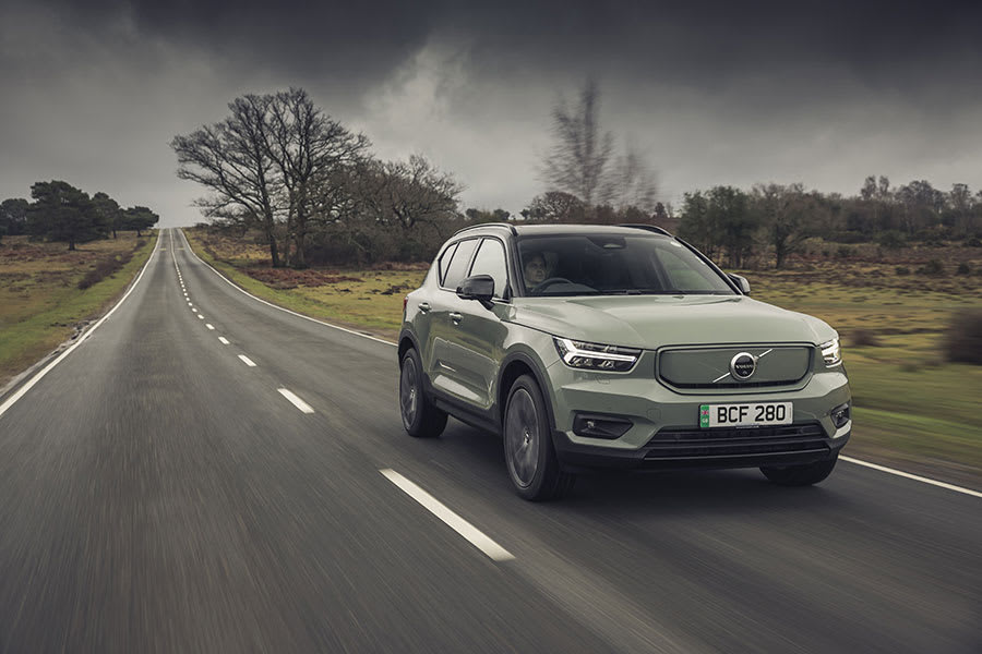 Volvo XC40 Recharge new trim front view