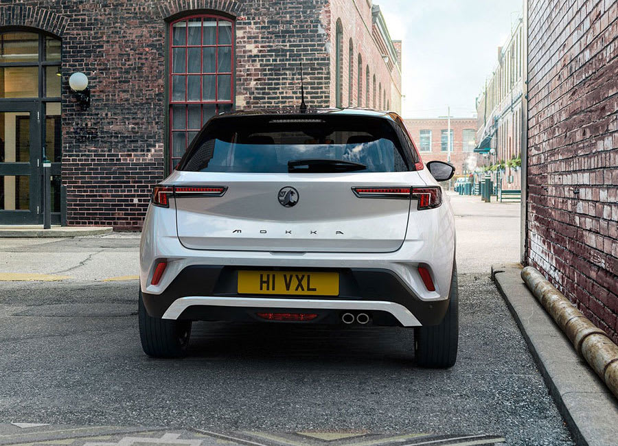 Vauxhall Mokka rear view