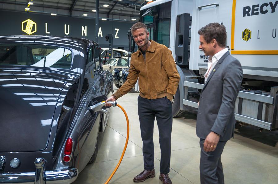 Lunaz announces David Beckham investment