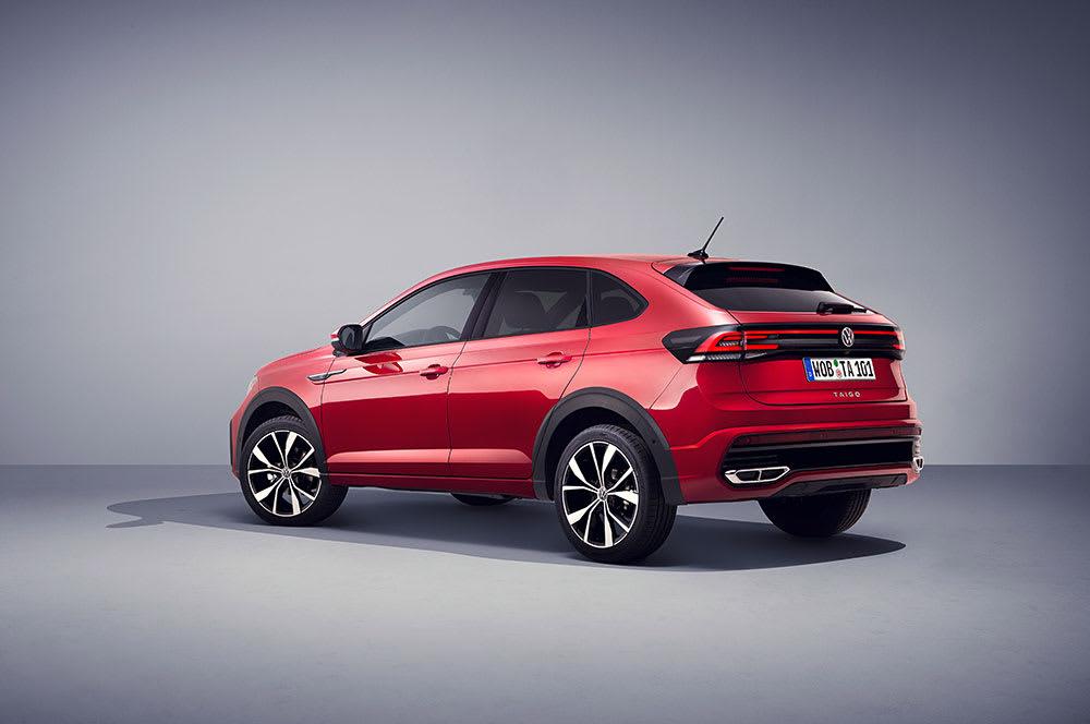New VW Taigo Crossover Rear