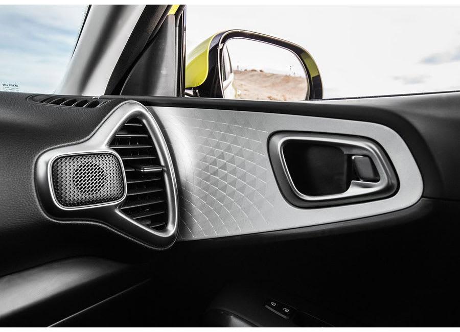 Kia Soul EV interior 2
