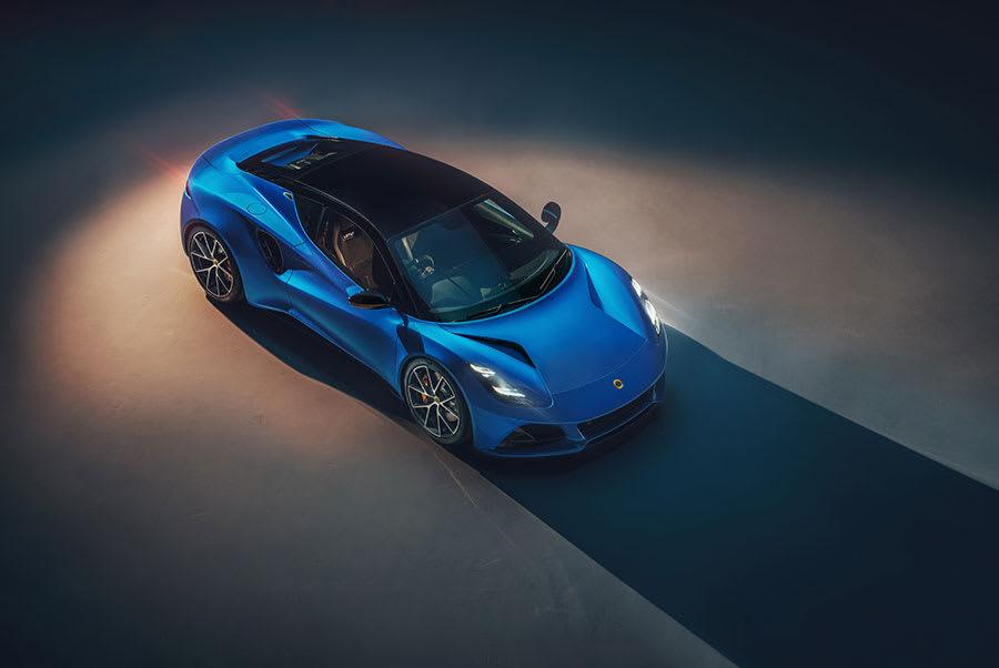 New Lotus Emira top view